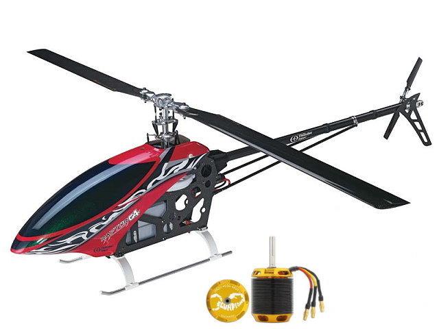 无平衡翼电动直升机 套件