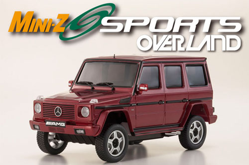 OVERLAND SPORTS MERCEDES G55L AMG Red Readyset